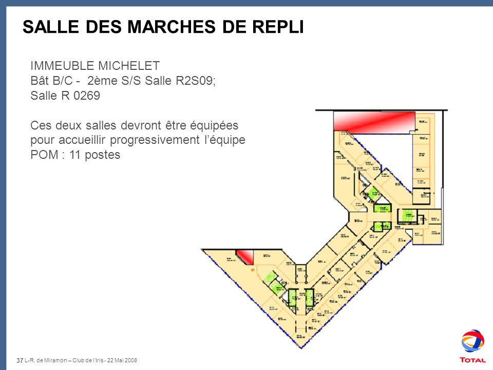 SALLE DES MARCHES DE REPLI