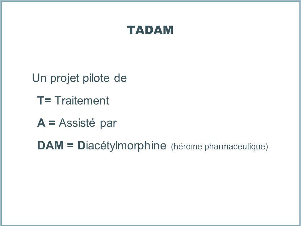 TADAM Un projet pilote de. T= Traitement. A = Assisté par.