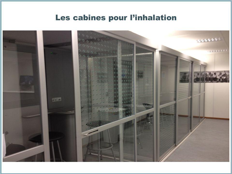 Les cabines pour l'inhalation