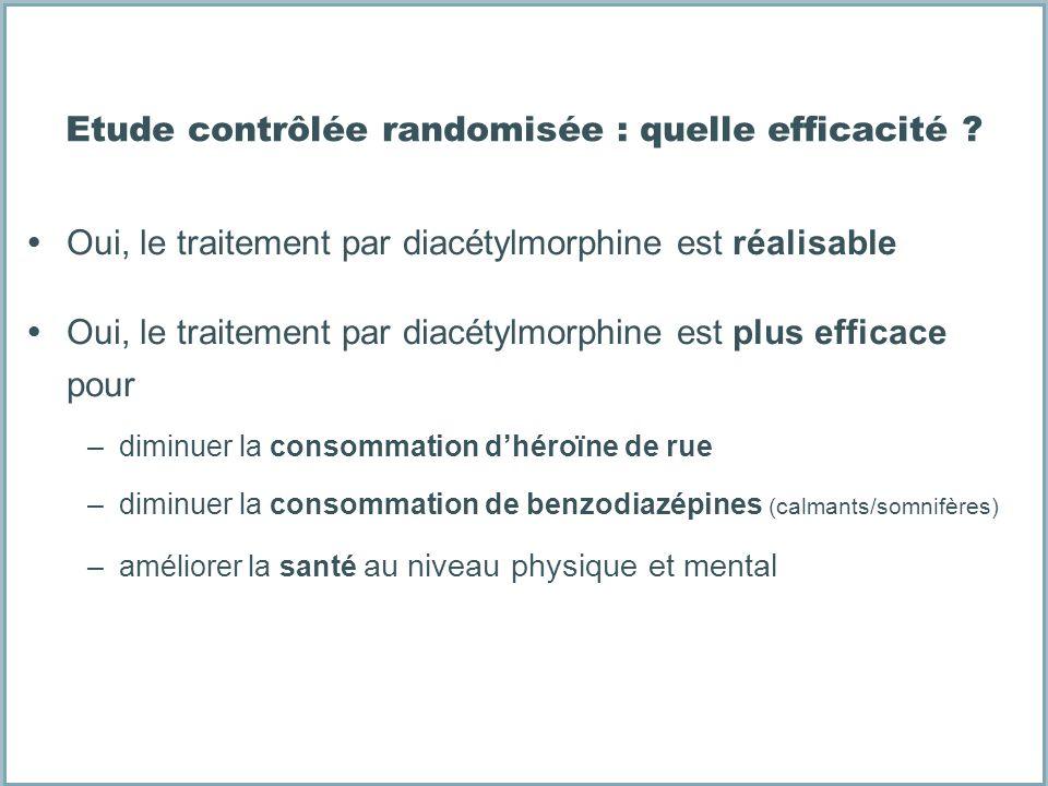 Etude contrôlée randomisée : quelle efficacité