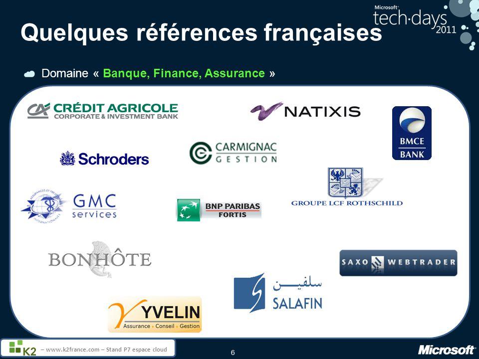 Quelques références françaises