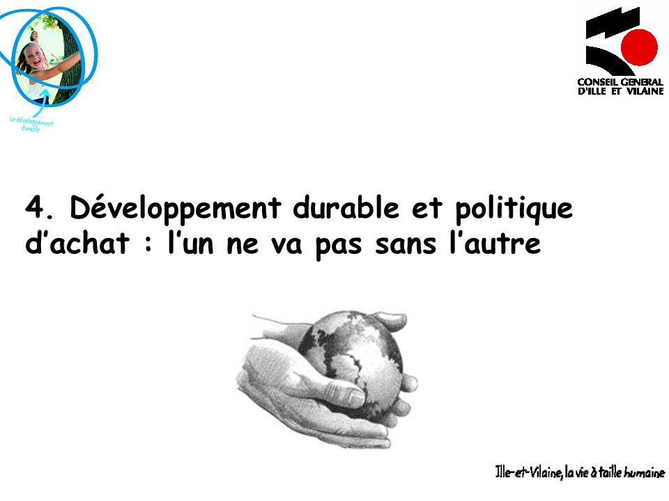 4. Développement durable et politique