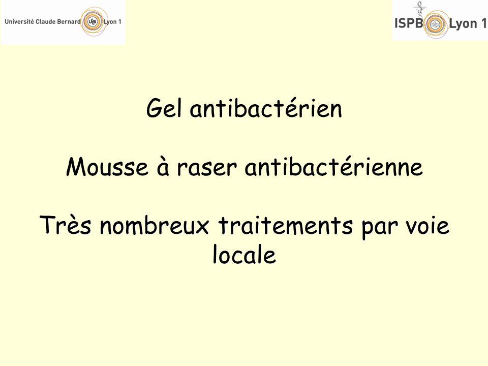Mousse à raser antibactérienne