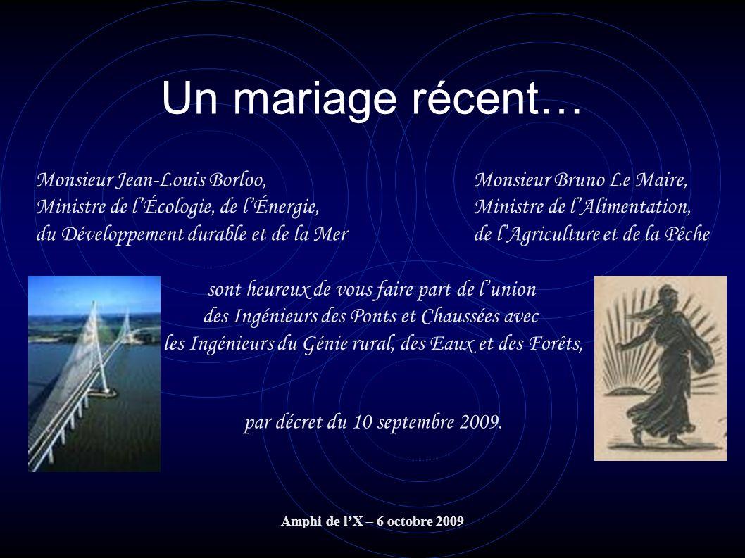 Un mariage récent… Monsieur Jean-Louis Borloo,