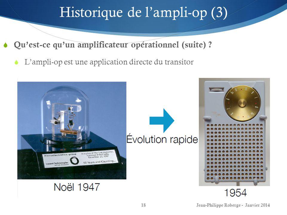 Historique de l'ampli-op (3)