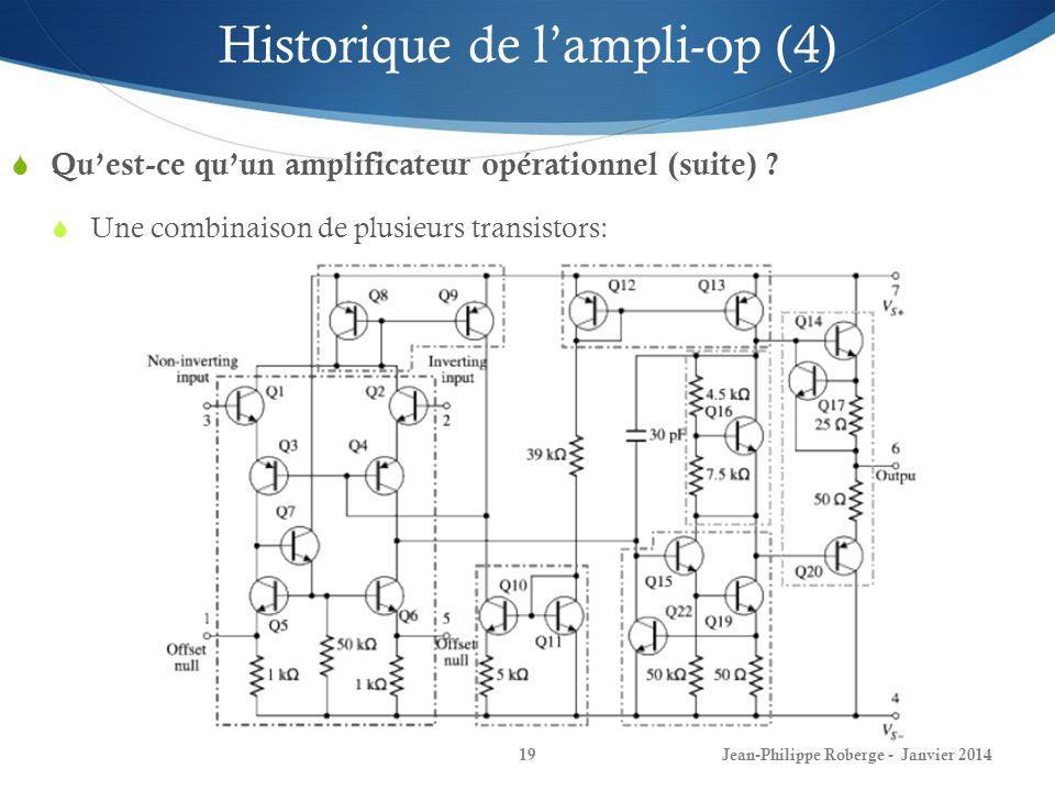 Historique de l'ampli-op (4)