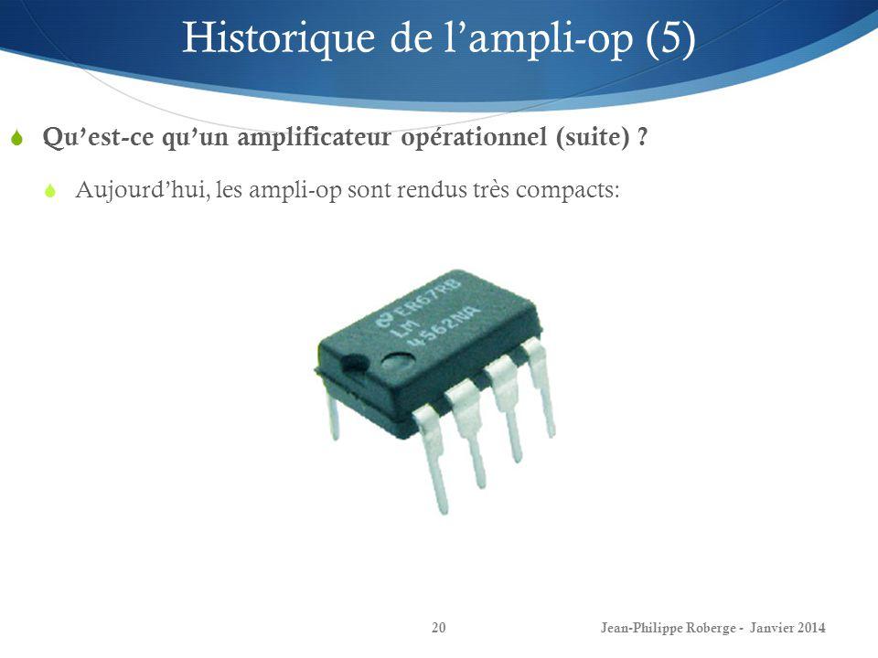 Historique de l'ampli-op (5)