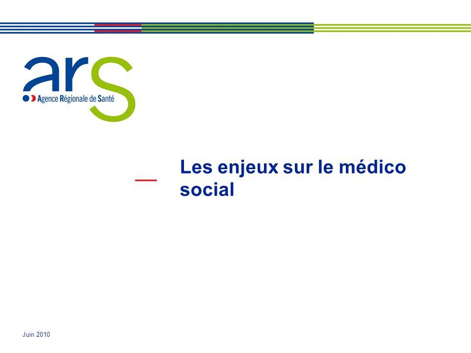 Les enjeux sur le médico social