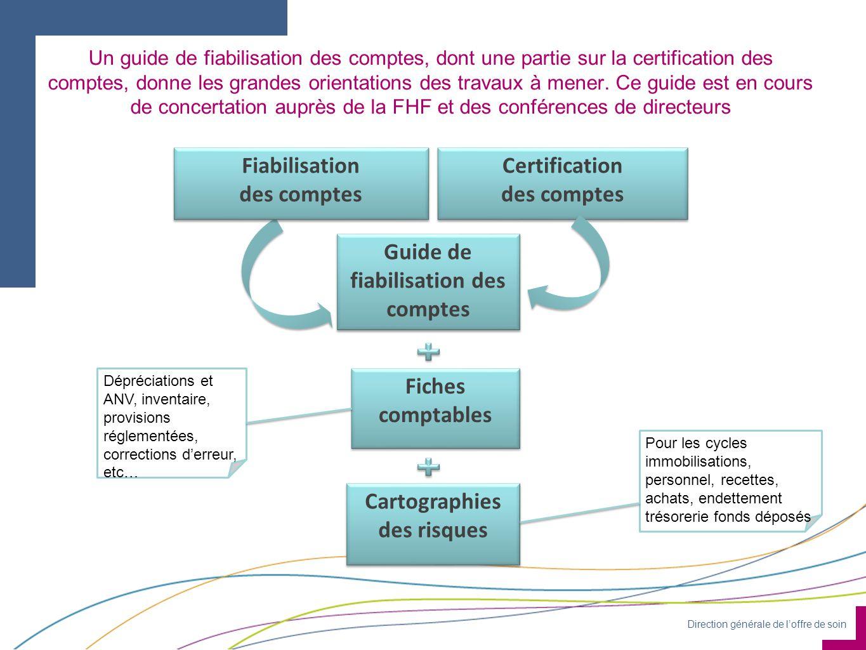 Guide de fiabilisation des comptes Cartographies des risques