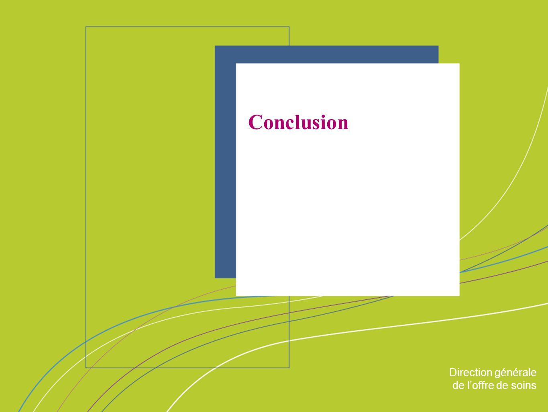 Conclusion ORGANISATION & MISSIONS Direction générale