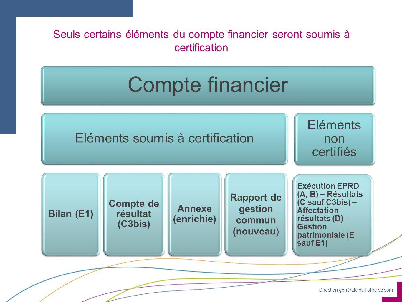 Compte de résultat (C3bis) Rapport de gestion commun