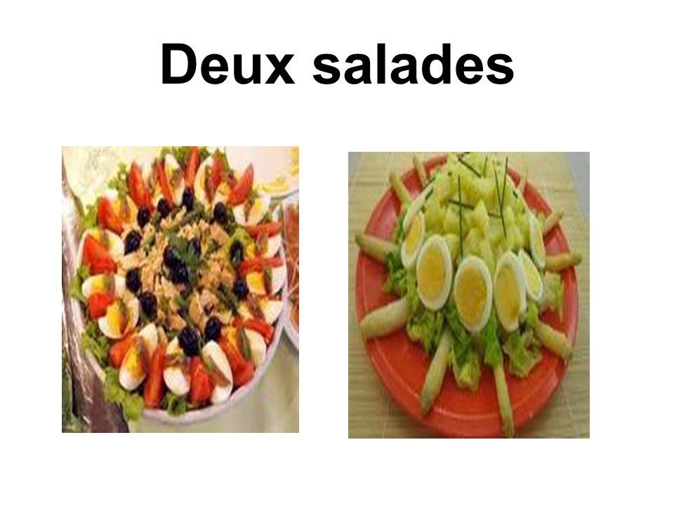 Deux salades