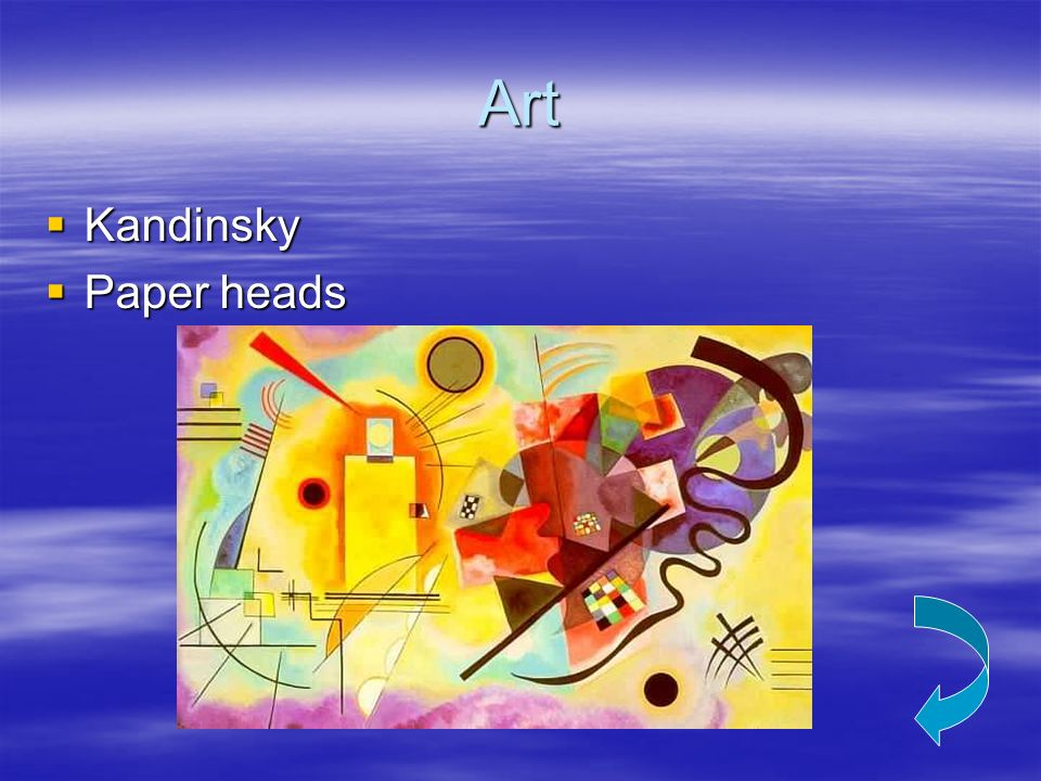 Art Kandinsky Paper heads