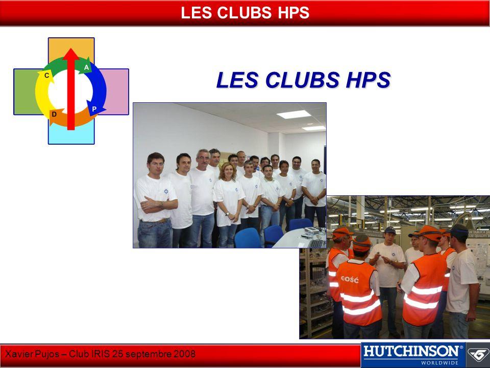 LES CLUBS HPS LES CLUBS HPS