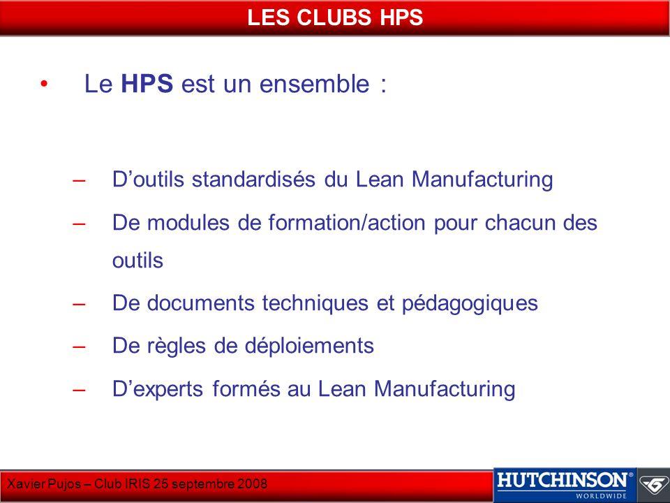 Le HPS est un ensemble : LES CLUBS HPS
