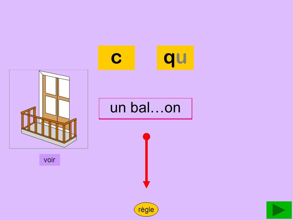 balcon c qu un bal…on un balcon voir règle