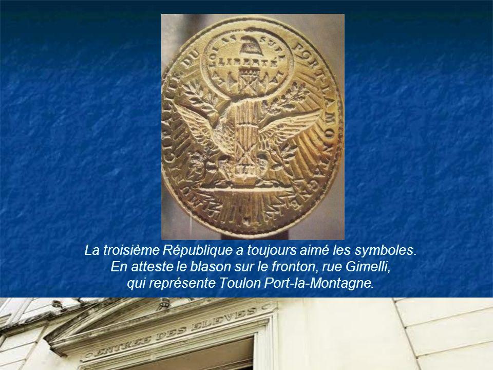 La troisième République a toujours aimé les symboles