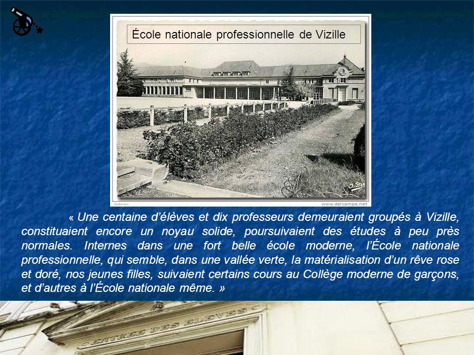 École nationale professionnelle de Vizille