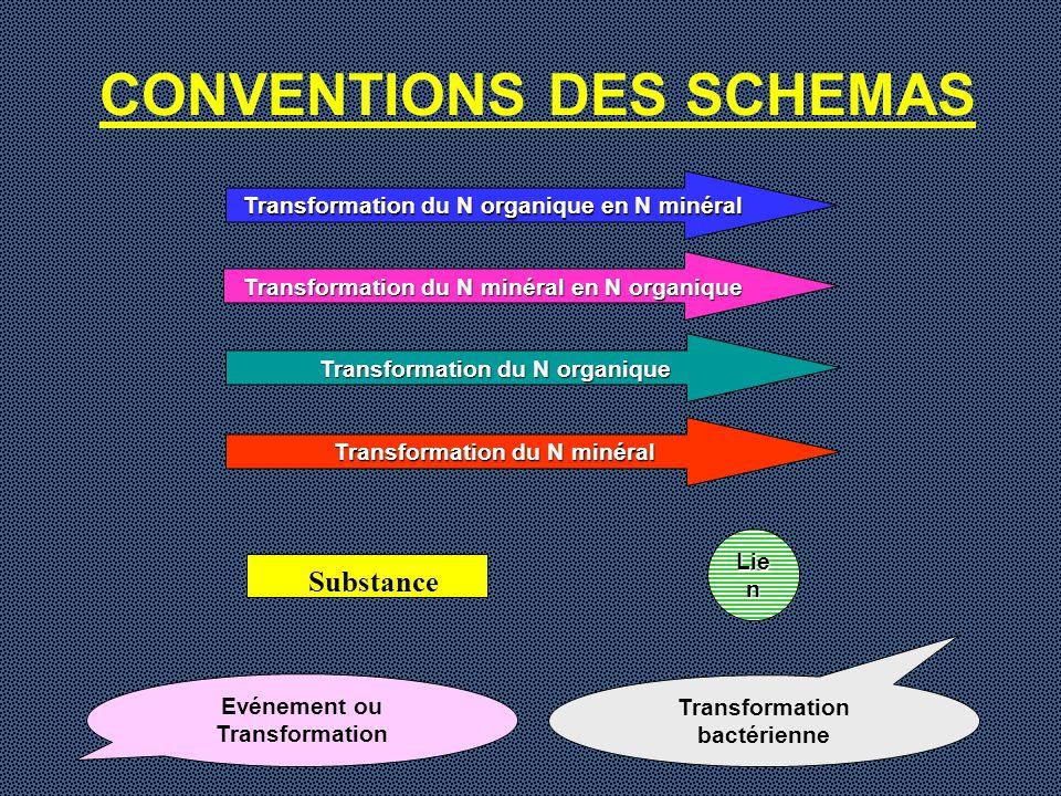 CONVENTIONS DES SCHEMAS