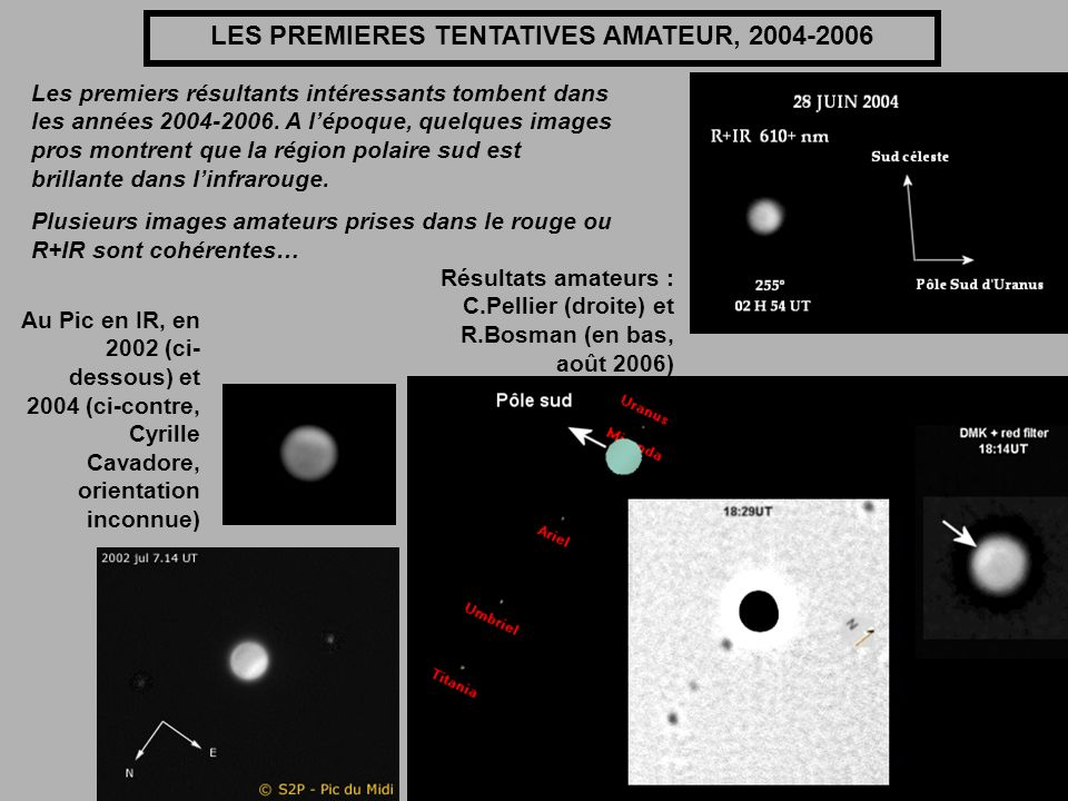 LES PREMIERES TENTATIVES AMATEUR, 2004-2006