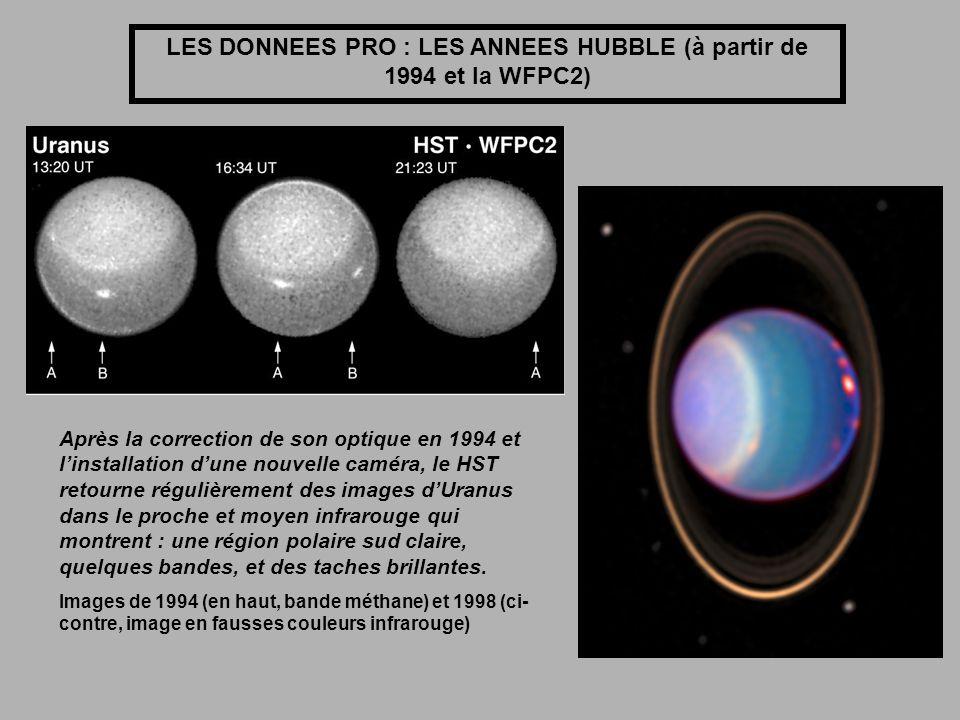 LES DONNEES PRO : LES ANNEES HUBBLE (à partir de 1994 et la WFPC2)