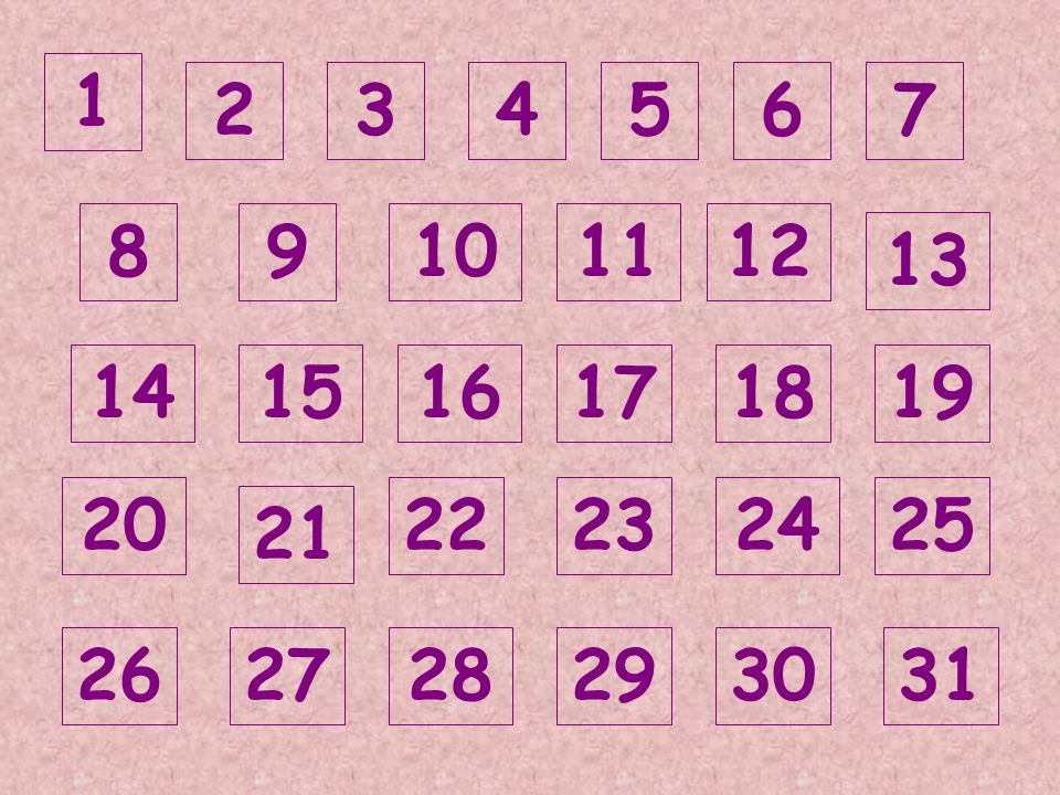 1 2 3 4 5 6 7 8 9 10 11 12 13 14 15 16 17 18 19 20 22 23 24 25 21 26 27 28 29 30 31