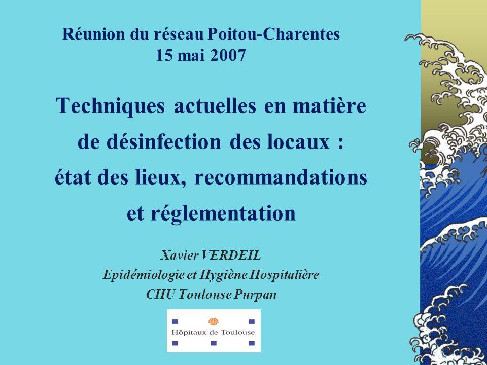 Réunion du réseau Poitou-Charentes 15 mai 2007