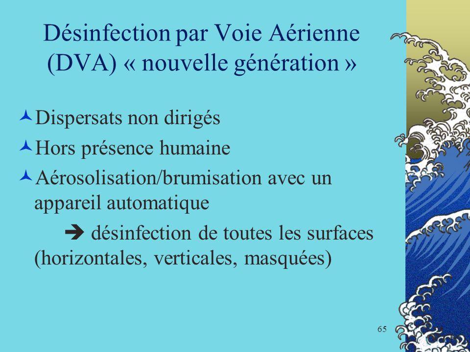 Désinfection par Voie Aérienne (DVA) « nouvelle génération »