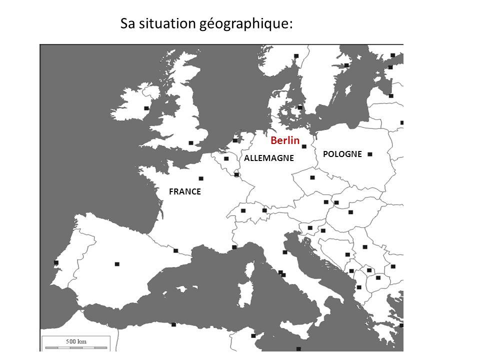 Sa situation géographique:
