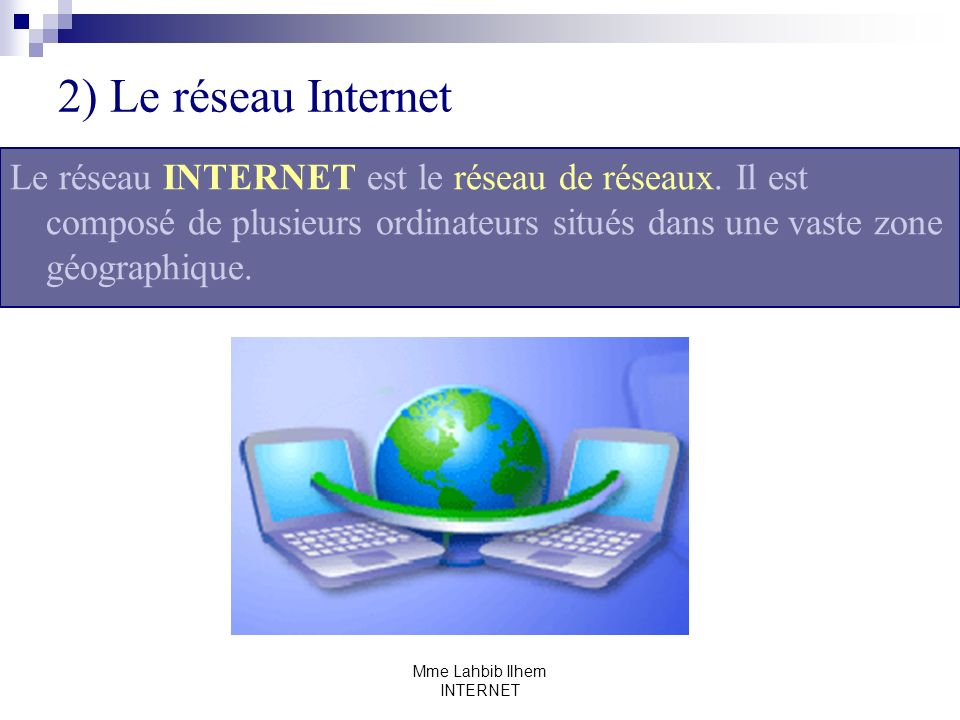 Mme Lahbib Ilhem INTERNET