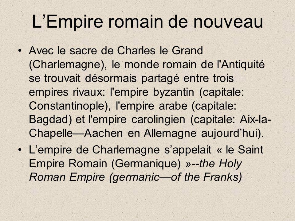 L'Empire romain de nouveau