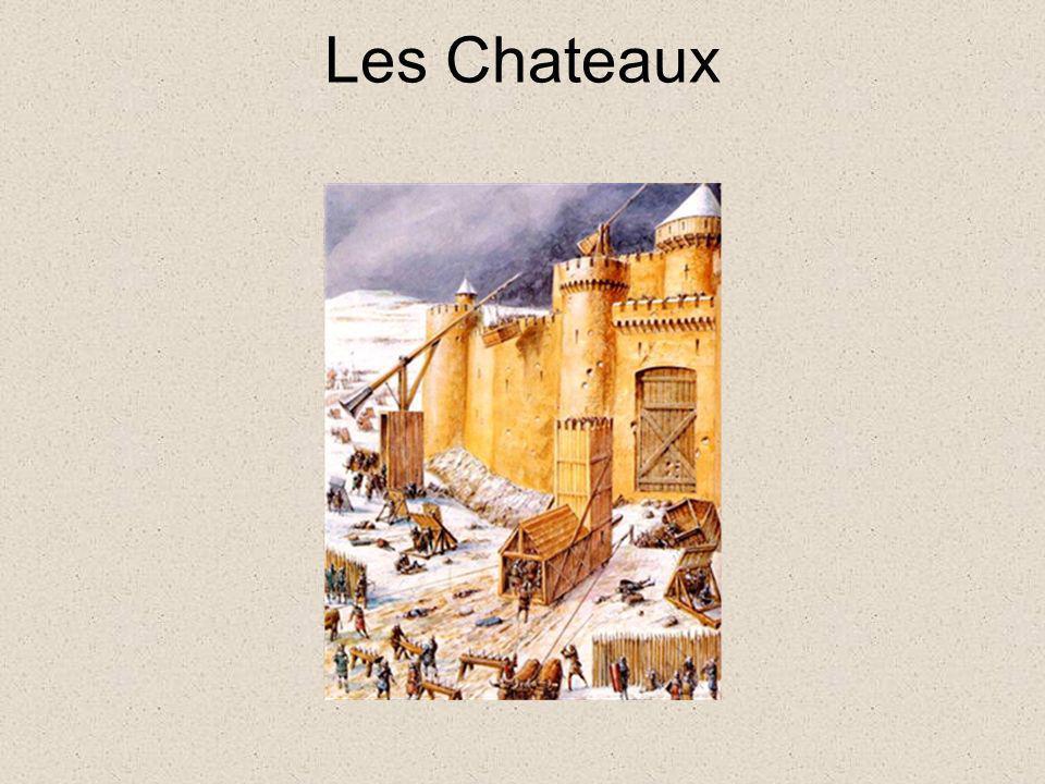 Les Chateaux Les différentes parties d'un chateau : http://planetejeanjaures.free.fr/histoire/moyen%20age/feodal7.htm.