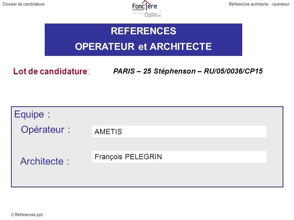 PARIS – 25 Stéphenson – RU/05/0036/CP15