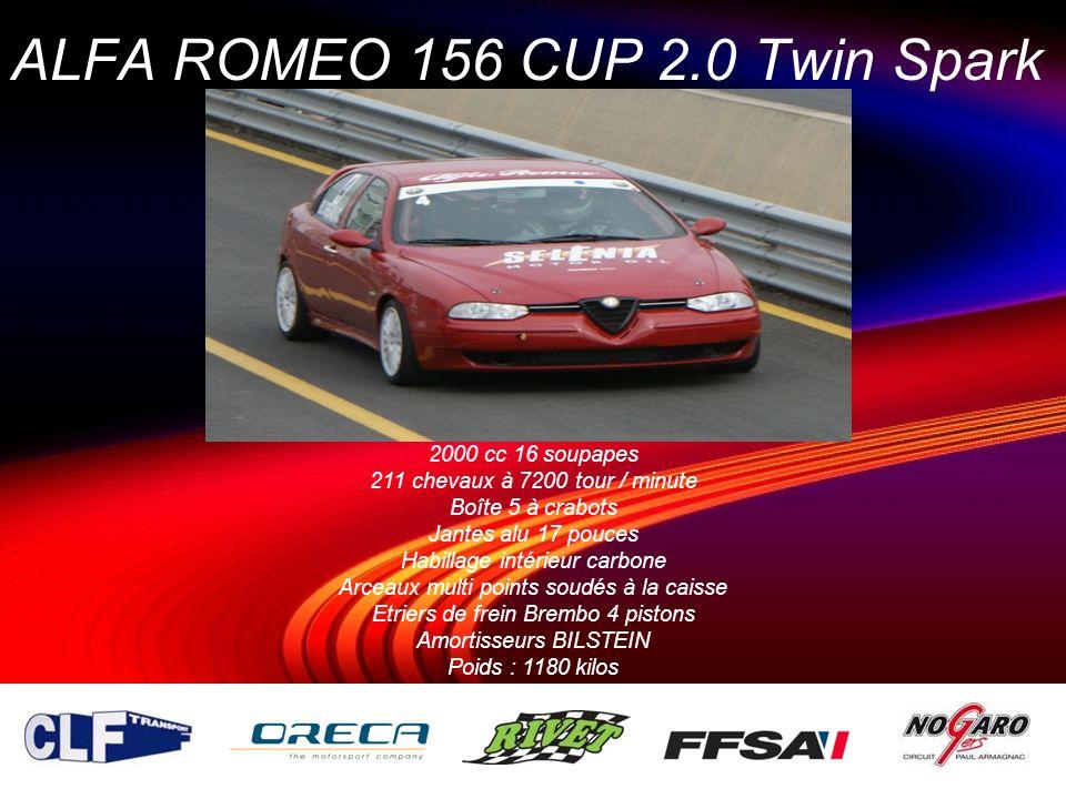ALFA ROMEO 156 CUP 2.0 Twin Spark