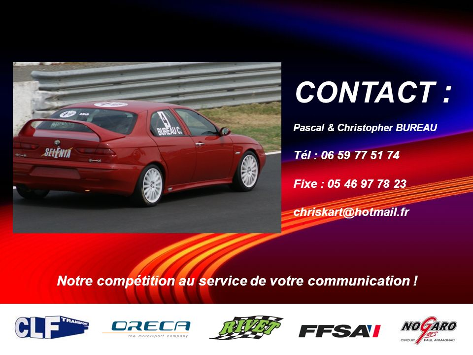 Notre compétition au service de votre communication !