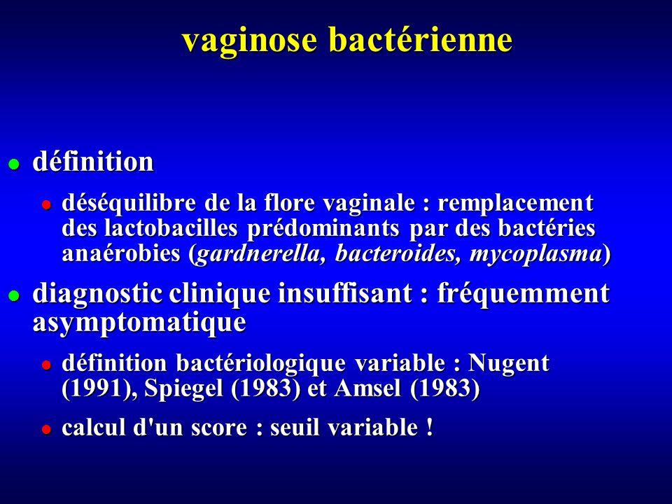 vaginose bactérienne définition