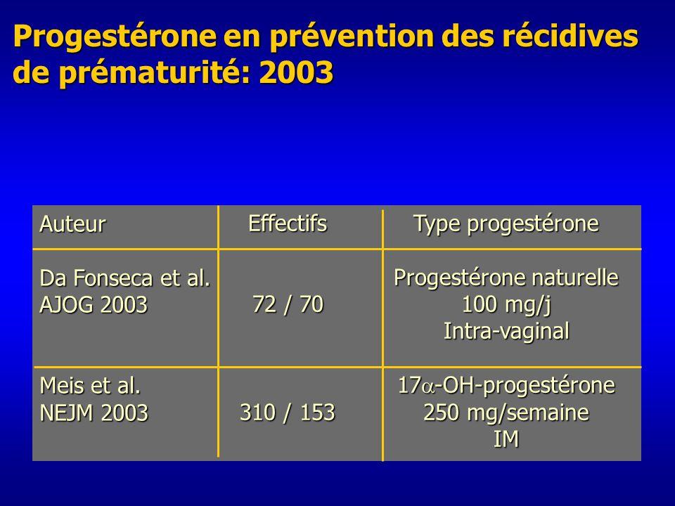 Progestérone naturelle
