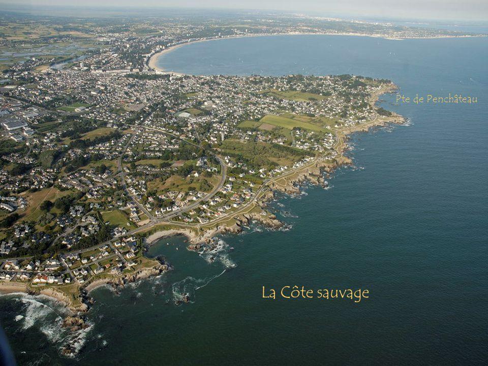 Pte de Penchâteau La Côte sauvage