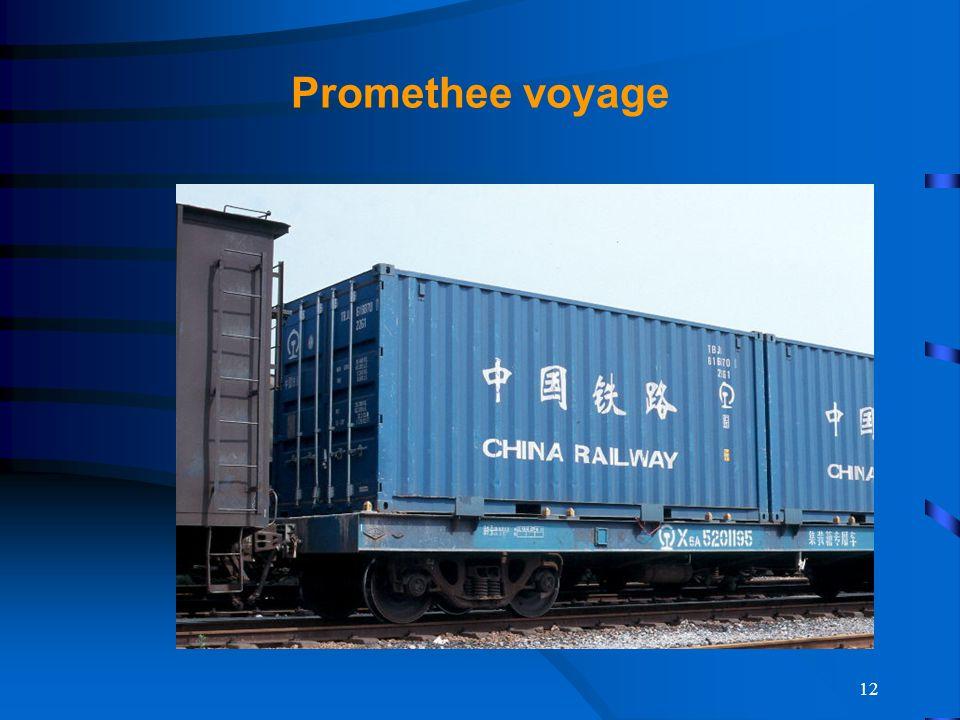 Promethee voyage