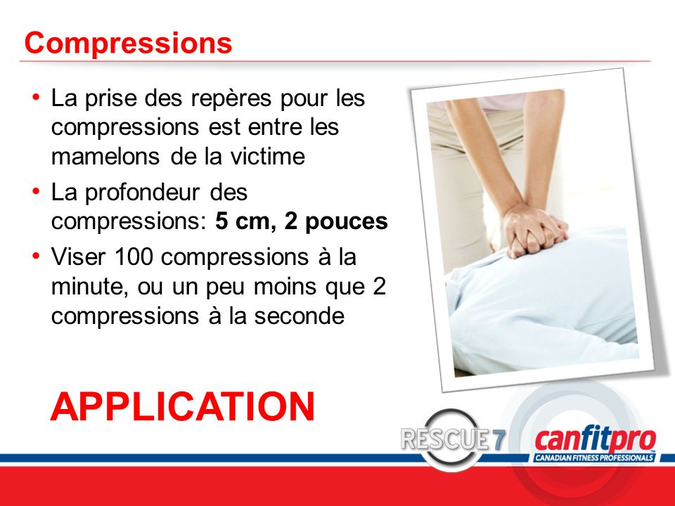 APPLICATION Compressions