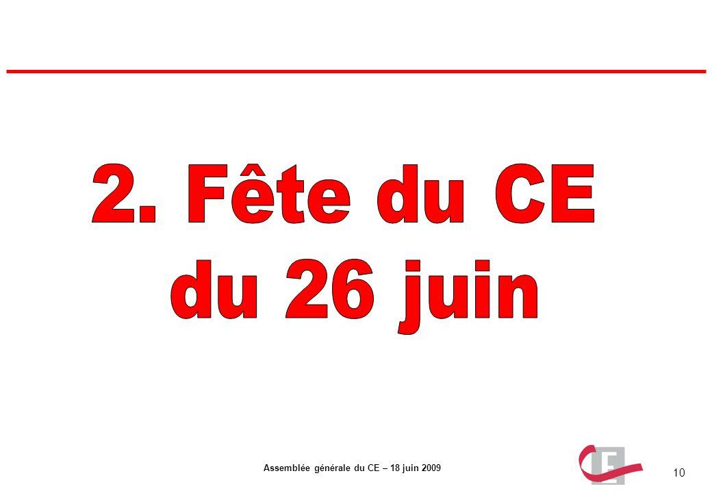 2. Fête du CE du 26 juin
