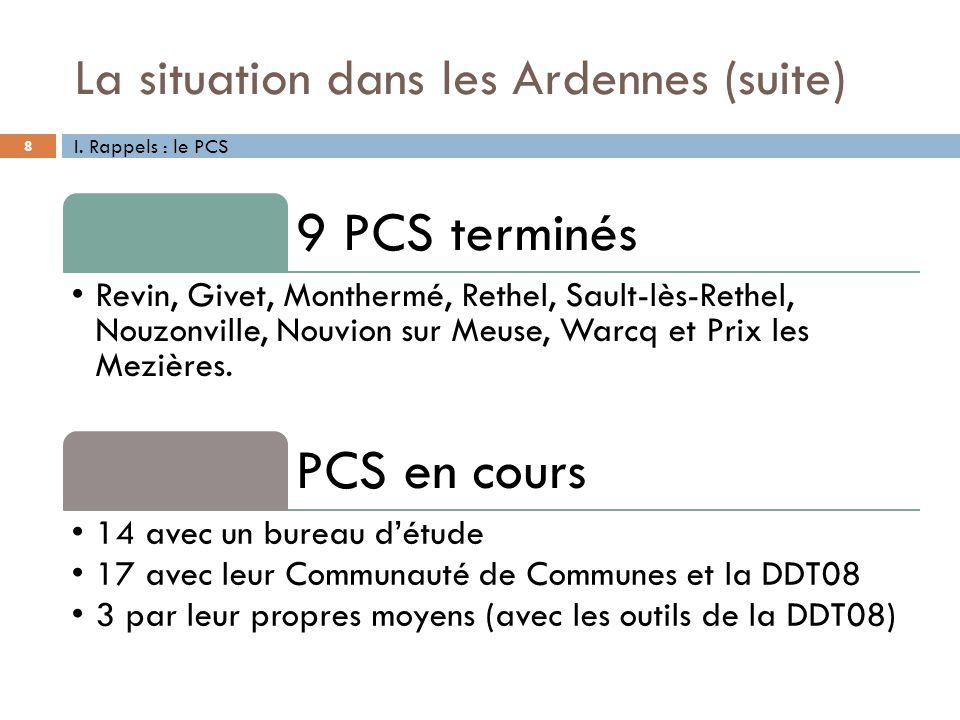 La situation dans les Ardennes (suite)