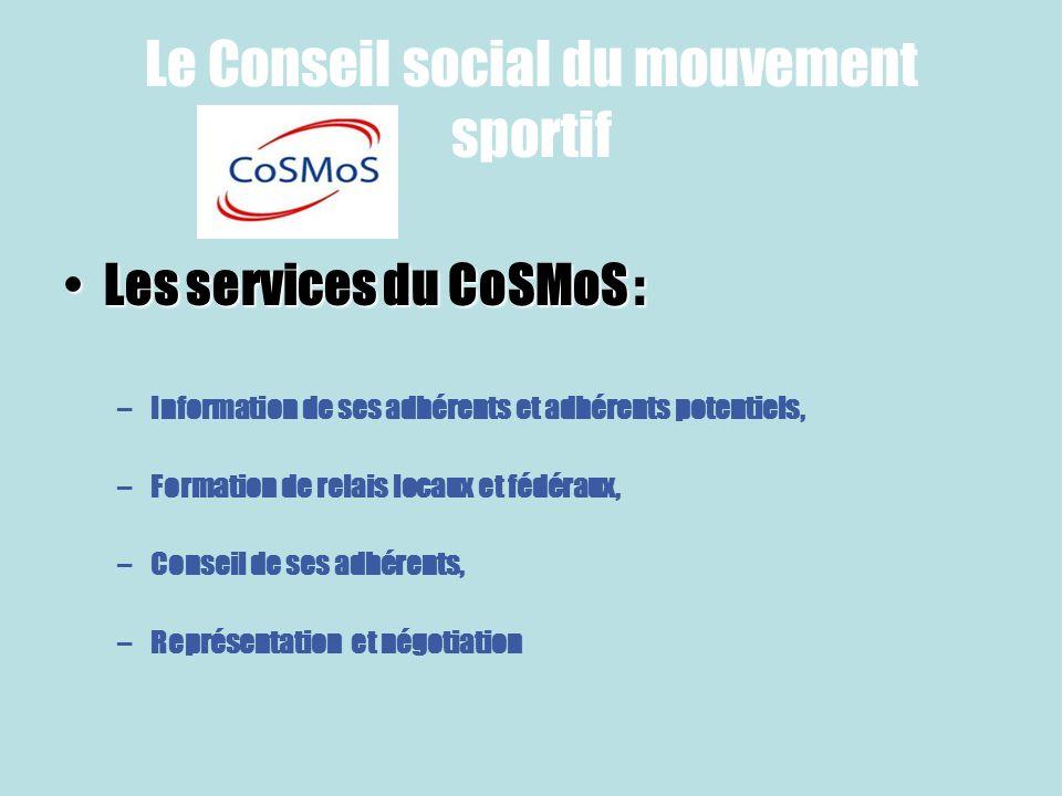 Le Conseil social du mouvement sportif