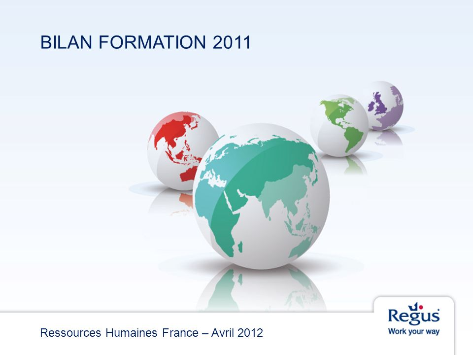 Ressources Humaines France – Avril 2012