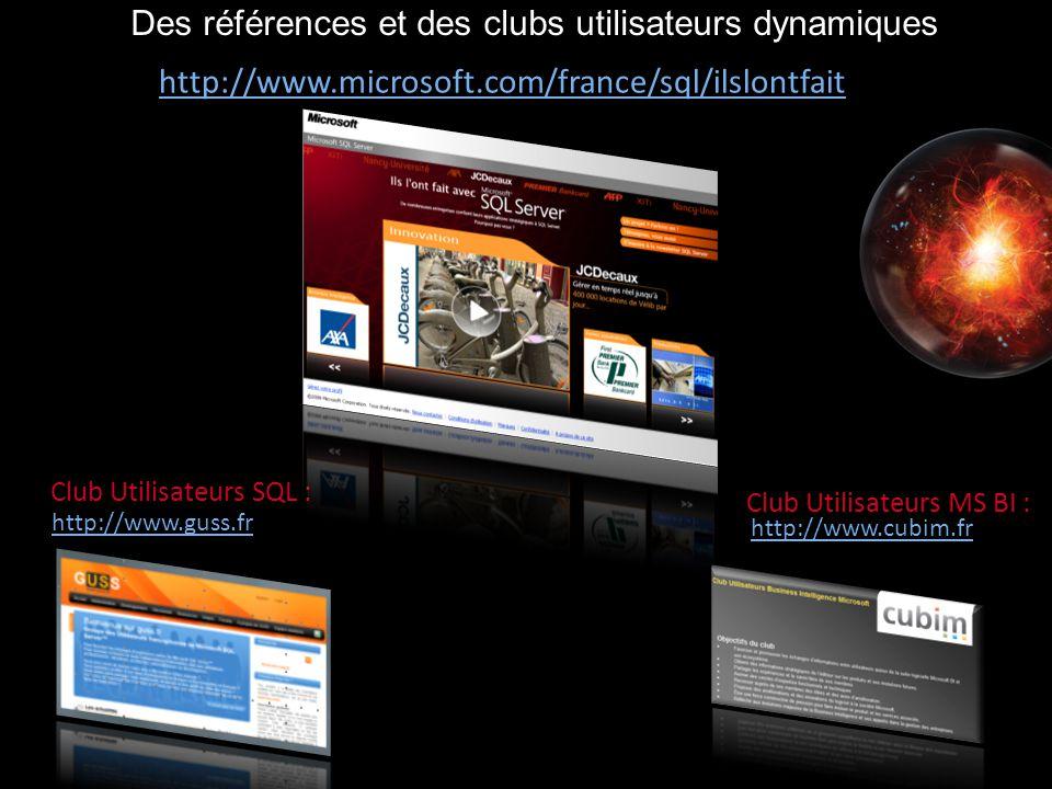 Des références et des clubs utilisateurs dynamiques