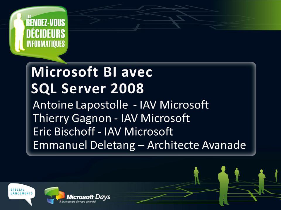 Microsoft BI avec SQL Server 2008