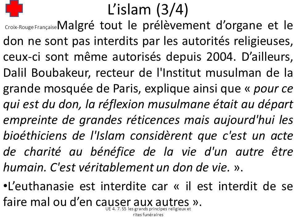 L'islam (3/4)