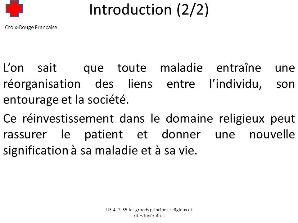 Introduction (2/2) Croix-Rouge Française.