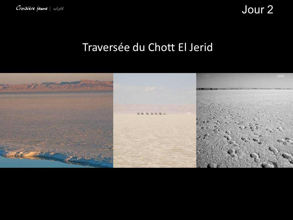 Traversée du Chott El Jerid