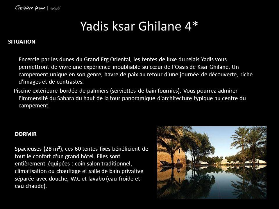 Yadis ksar Ghilane 4* SITUATION